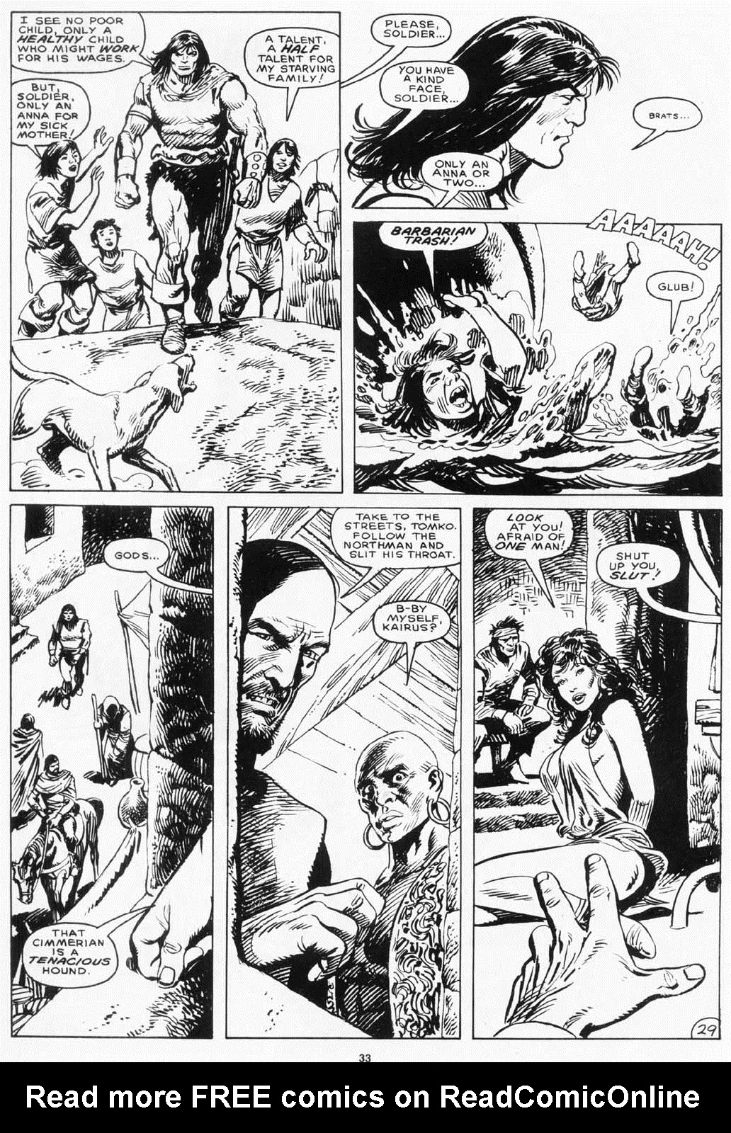 The Savage Sword Of Conan Issue #156 #157 - English 33