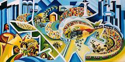 Mildred Pacitti Rocha - mestra das artes plásticas de Araçatuba
