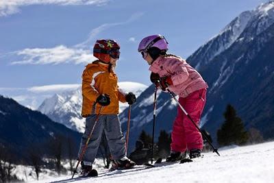 Как поставить ребенка на горные лыжи