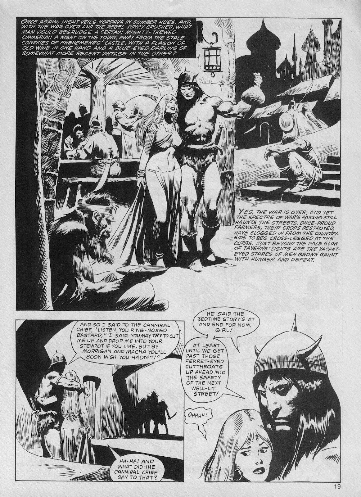 The Savage Sword Of Conan Issue #61 #62 - English 19