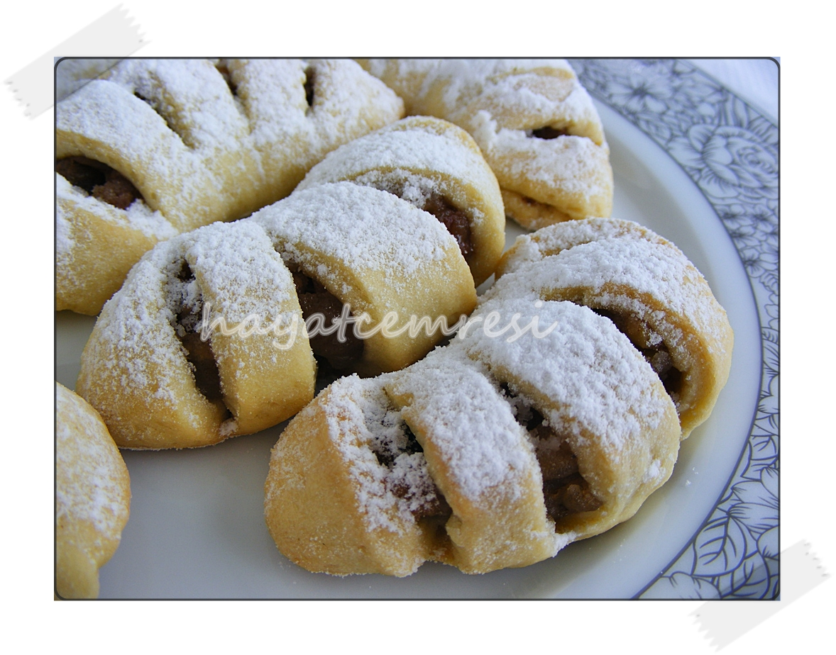 elmali turta kurabiye