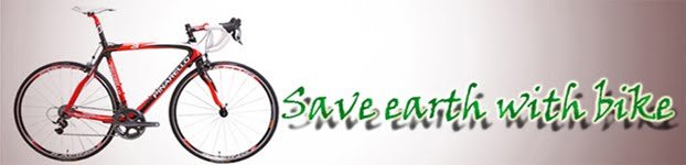 save our earth with bike