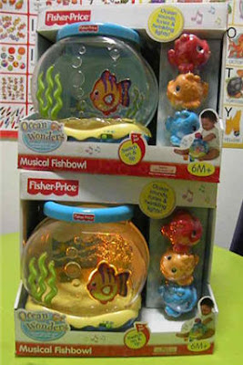 Macam macam ada fisher price ocean wonders musical fish bowl for Fisher price fish bowl