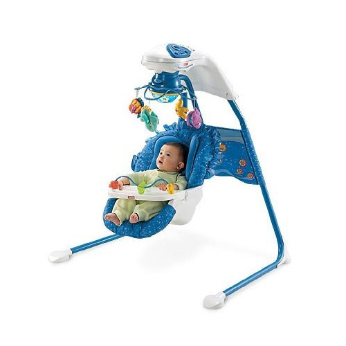 fisher price ocean wonders aquarium cradle swing manual 2
