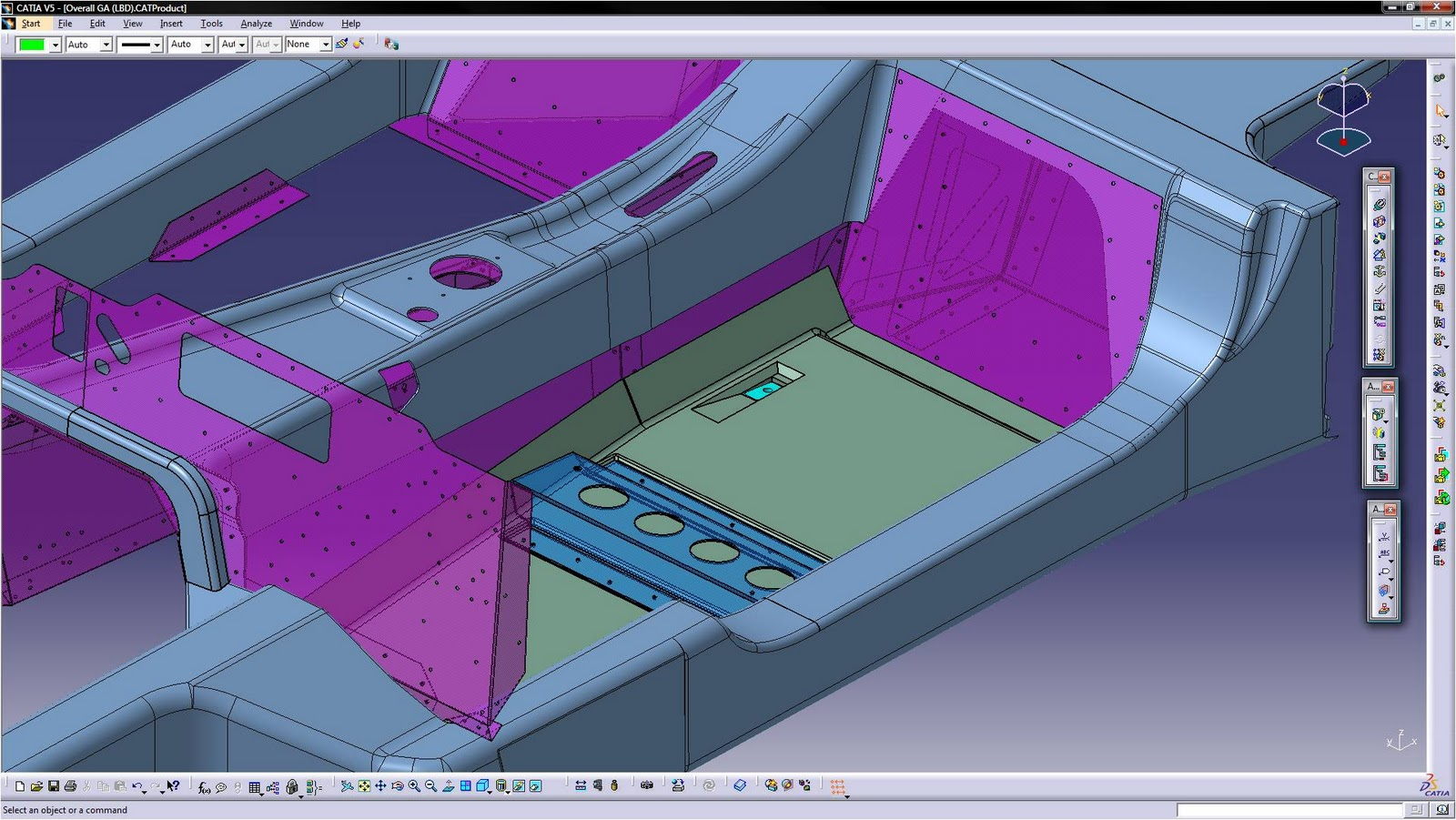 Light black design how we use catia v5 in the office for Truck design software
