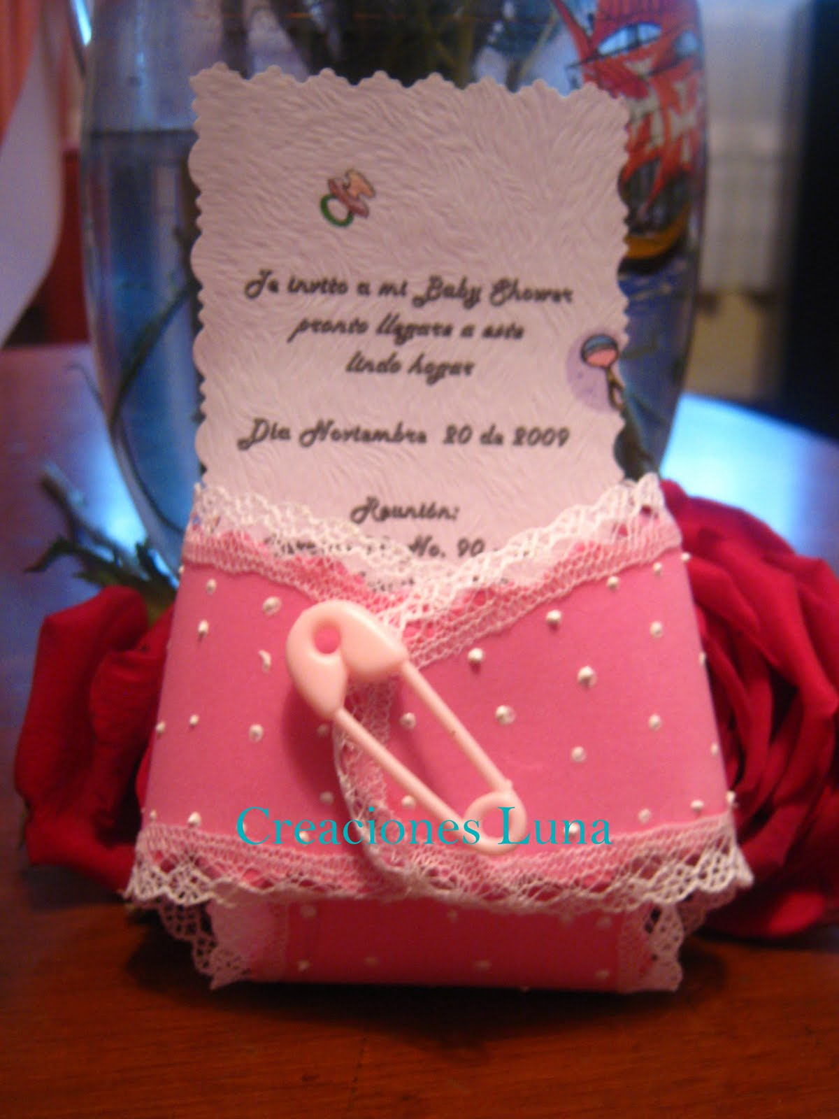 Baby Shower recordatorios