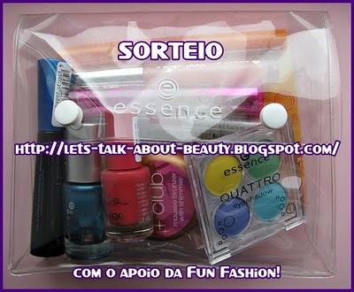 Sorteio Let's Talk About Beauty