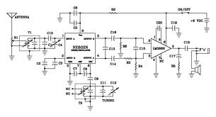 Transmissor Ondas Curtas Am besides C01 in addition  furthermore Active Antenna With Gain Booster also Simple Am Transmitter. on fm receiver schematic