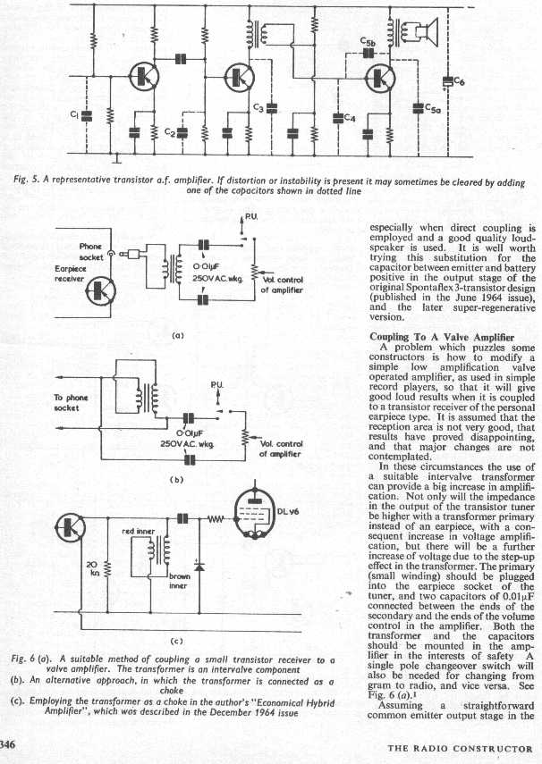 the radio builder  theory how to modify the coupling
