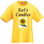 Kat's Candles tshirt image photo picture
