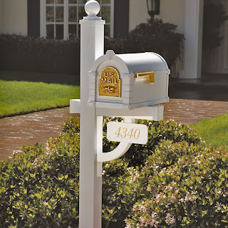 mailbox on post image photo picture