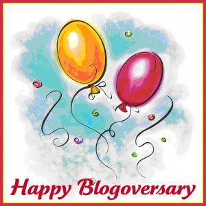 Happy Blogoversary to Me image photo picture