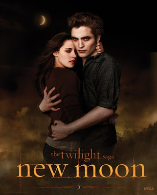 New Moon Poster Edward and Bella Embrace image photo picture