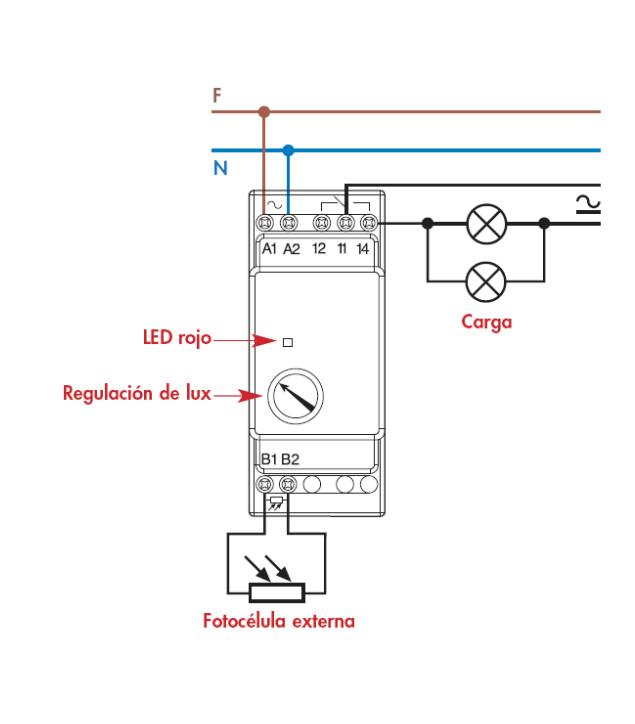 Imos lonxe interruptor crepuscular - Instalar interruptor conmutador ...