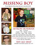 Missing Kyron Horman