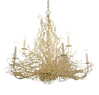 coraltwigchandeliertoddmerrillcollectionchandelier francecirca195027s - Wall branch chandelier