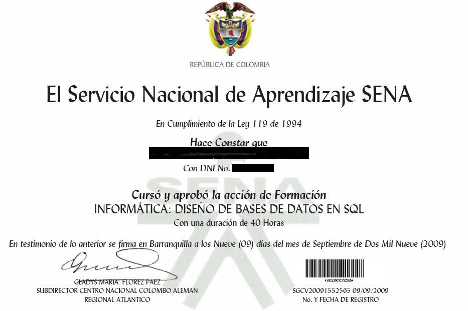 inscripcion carrera tecnica sena:
