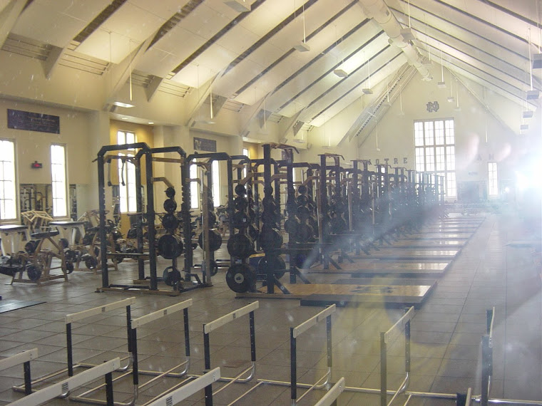 IRISH Weight Room