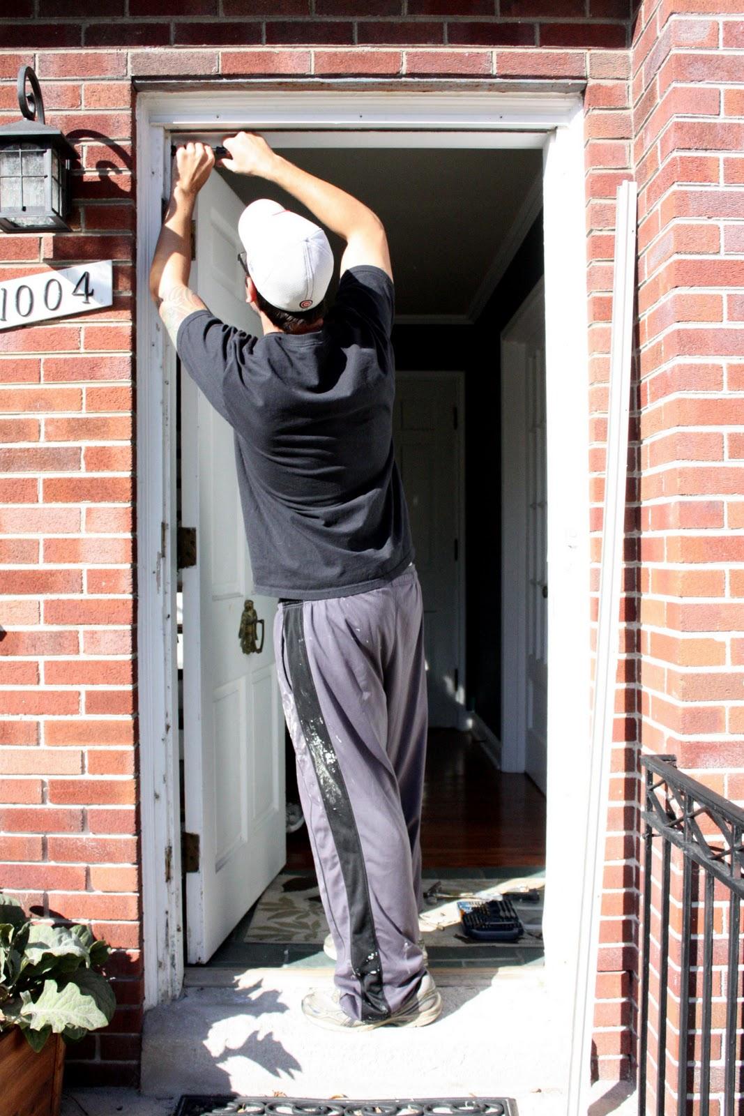Russet Street Reno Storm Door Shuffle