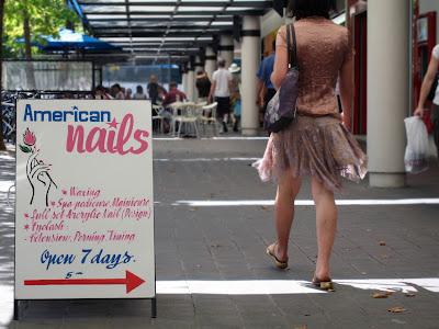 Viagem à Camberra american nails