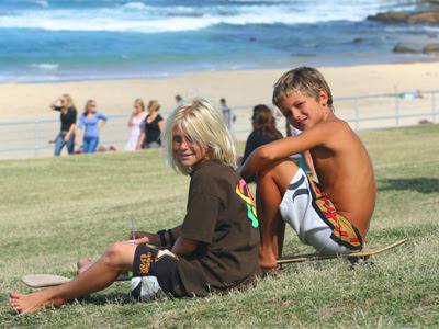 Bondi Beach grommets2