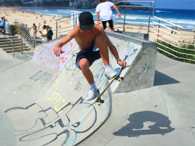 Bondi Beach skater
