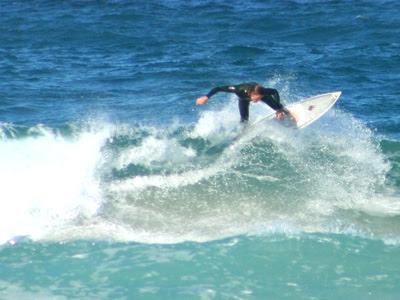 Bondi Beach sloppy