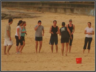 Bondi Beach bootcamp