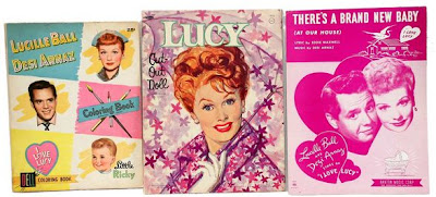Lucy coloring books
