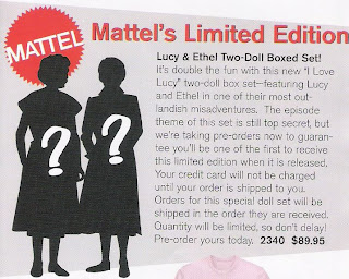 Lucy and Ethel Dolls