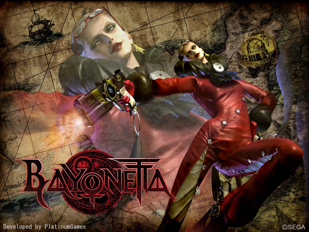 Bayonetta HD & Widescreen Wallpaper 0.578214980091055