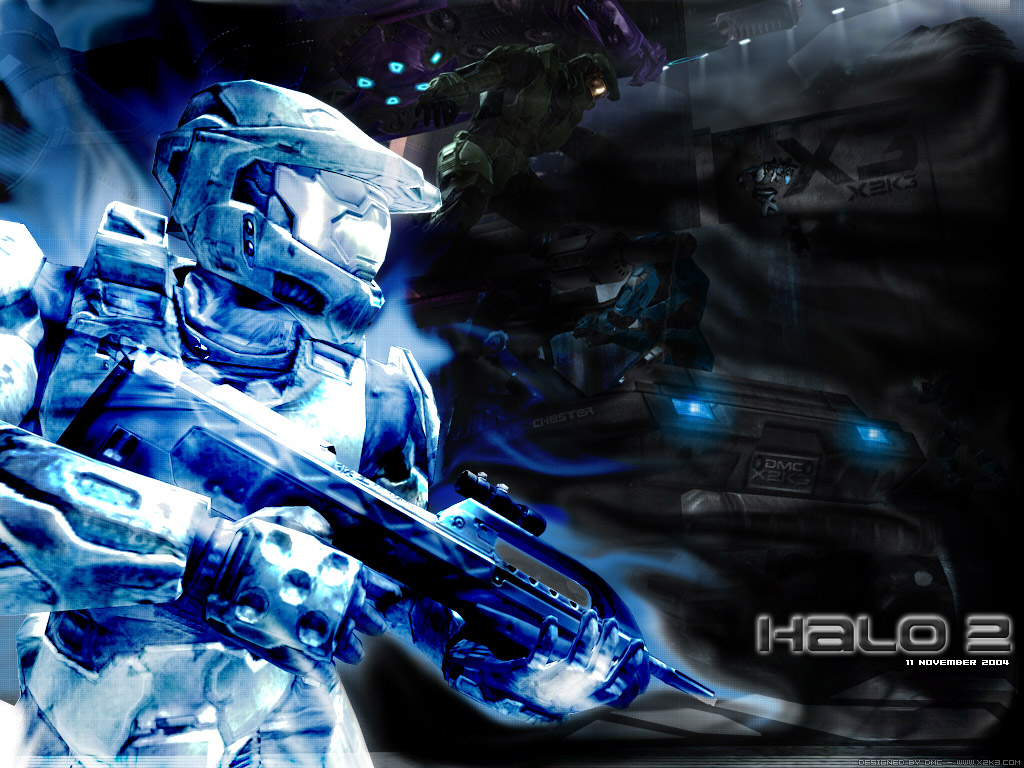 VIZIO BLOG: HALO WALLPAPERS.