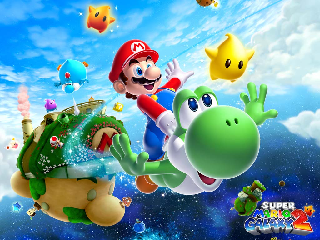 Super Mario HD & Widescreen Wallpaper 0.999135706502861