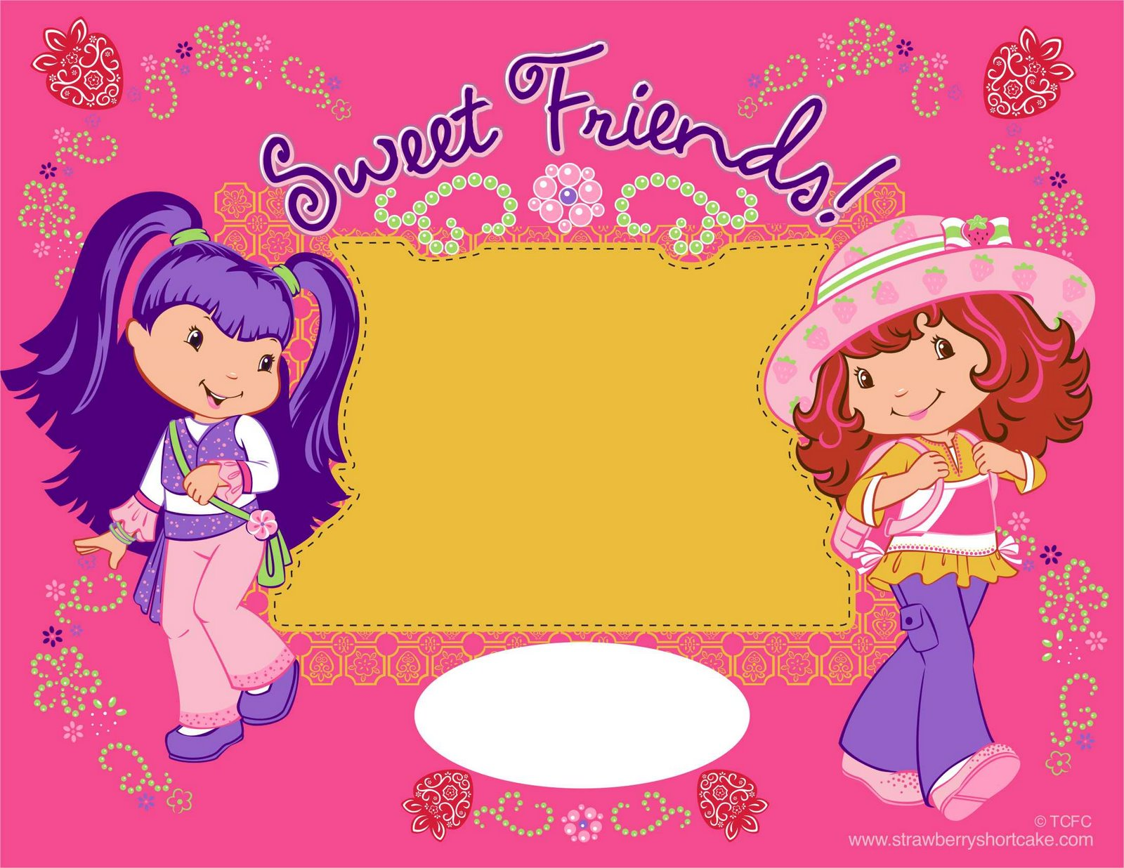 VIZIO BLOG: ROSITA FRESITA (STRAWBERRY SHORTCAKE) POSTERS Y WALLPAPERS
