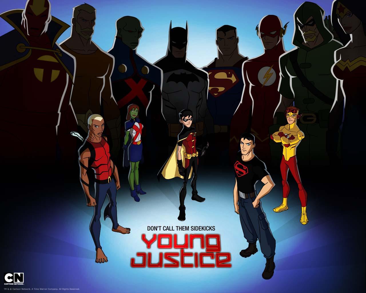Justicia Joven Youngjusticewallpaper2
