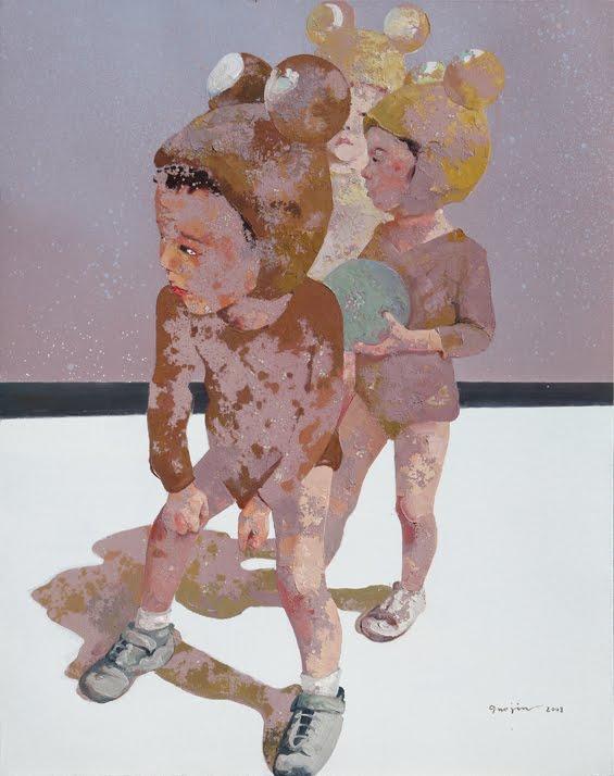 Jin Guo Guo Jin Expresses His Art