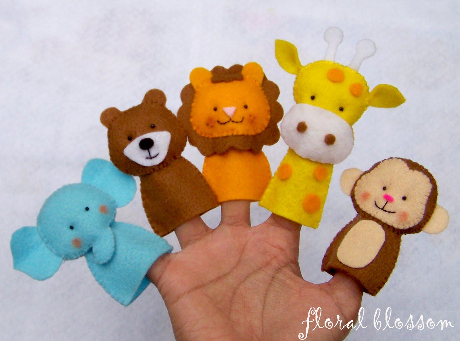 На пальцы игрушки своими руками