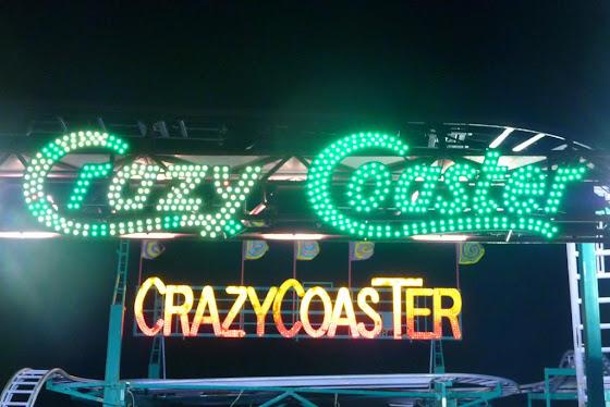 La crazy coaster de Portland