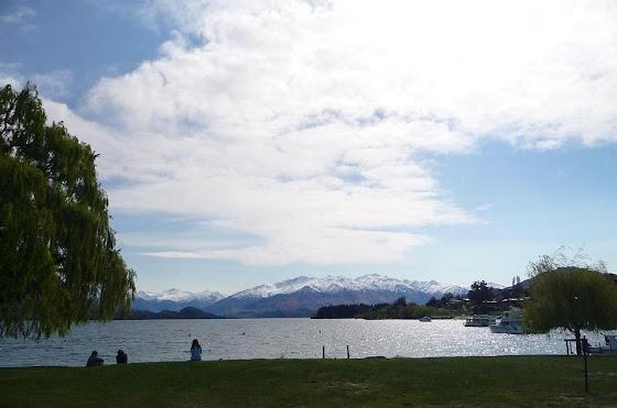 Wanaka en la Isla Sur, Nueva Zelanda