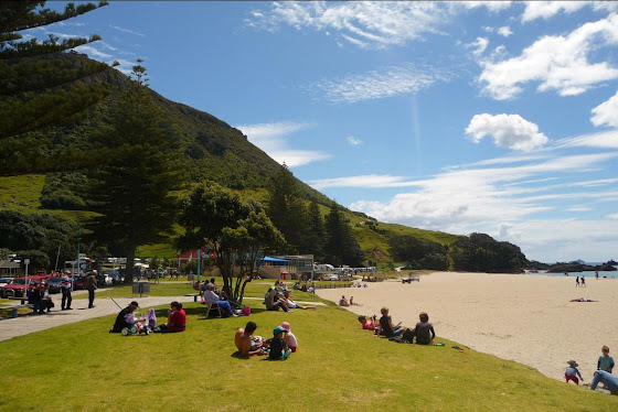 Así es Mount Manganui - Nueva Zelanda