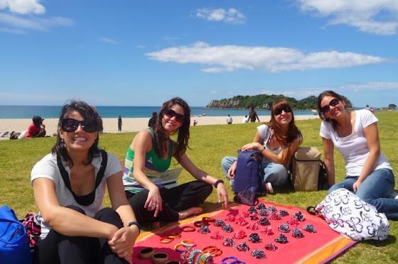 Aquí una foto de las chicas con las que estuve en Tauranga por un tiempo mientras estaba desempleado
