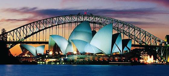 Aquí una foto de la bellísima Sydney, Australia