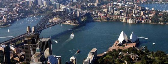 Sydney, Australia desde el aire