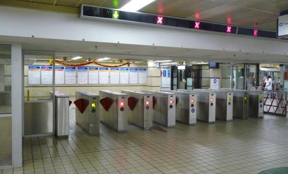 Estación de tren en Sydney