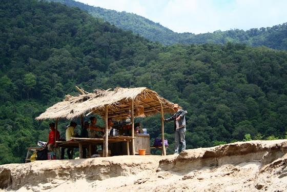 Foto de uno de los asentamientos rumbo a Luang Prabang