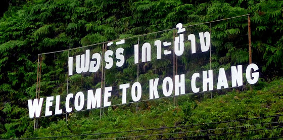Welcome to Koh Chang, Thailand