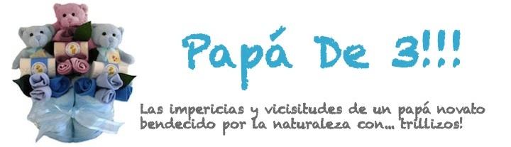 Papá De 3!!!