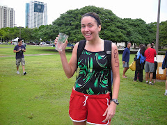 At the Waikiki Swim Club Biathlon...