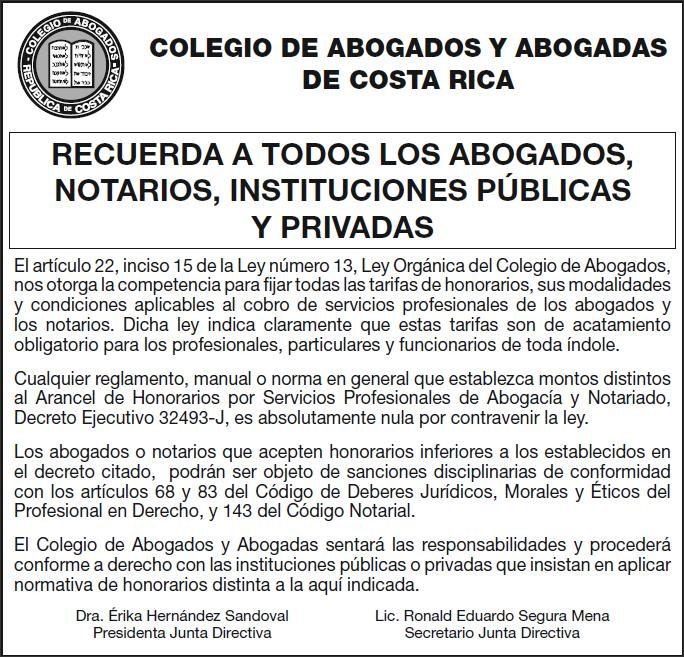 dirreccion nacional notariado costa rica: