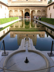 The Court of the Myrtles, in the Alhambra